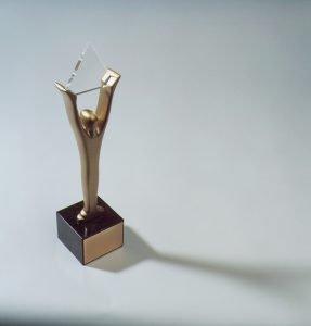 Stevie Award Trophy
