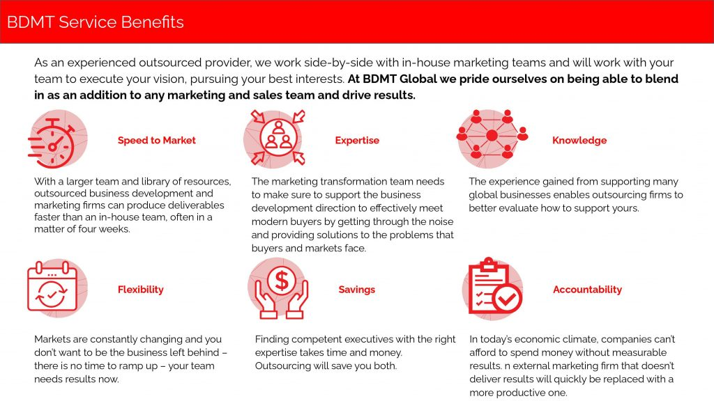 BDMT Benefits