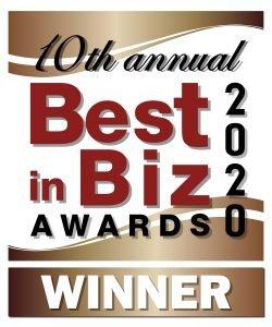 Best in Biz Bronze Award 2020